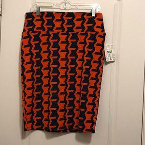 L Lularoe Cassie Skirt NWT